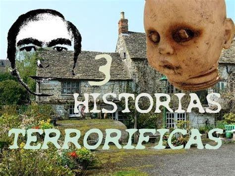 3 HISTORIAS DE TERROR REALES   YouTube