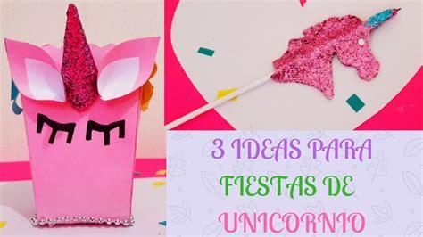3 ideas para decorar tus fiestas de unicornio fáciles y ...