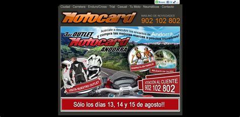 3º Outlet Motocard Andorra
