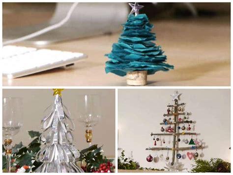 3 propuestas para hacer un árbol de navidad casero