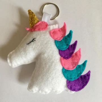 3 trucos para saber como hacer un unicornio de fieltro ...