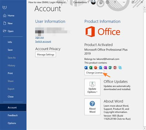 3 Ways to Change Office Product key in Office 2019, Office ...