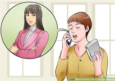 3 Ways to Find a Good Divorce Attorney   wikiHow