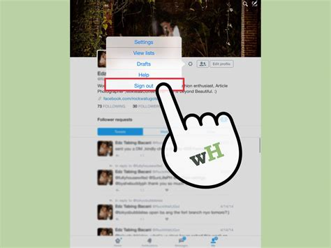 3 Ways to Log Out of Twitter   wikiHow