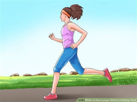 3 Ways to Run Longer Without Getting Tired   wikiHow