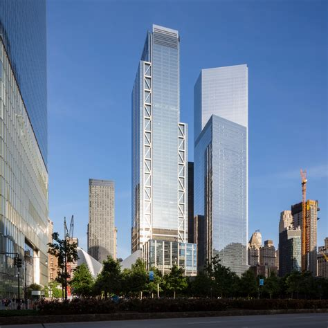 3 World Trade Center Opens as The Fourth Completed ...