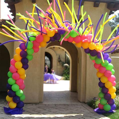 30 Decoraciones con globos para fiestas infantiles: Ideas ...
