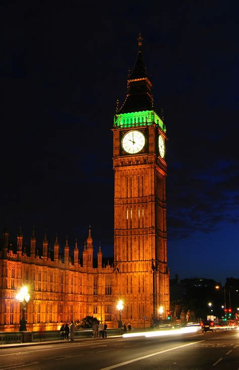 30 Incredible Night View Pictures Of Big Ben, London