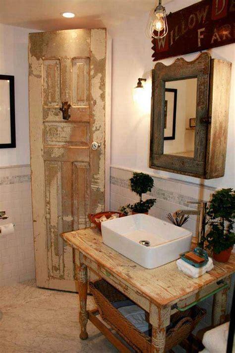 30 Inspiring Rustic Bathroom Ideas for Cozy Home   Amazing ...