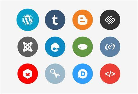 30 Packs【GRATIS】de Iconos de redes sociales en 2017
