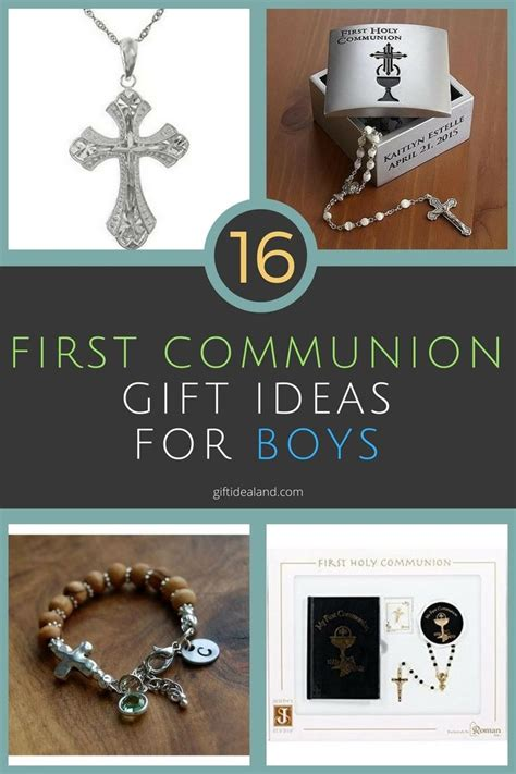 30 Unique First Communion Gift Ideas For Boys | First ...