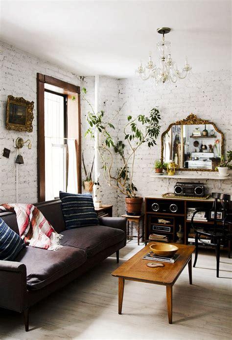 30+ White Brick Wall Interior Designs | Home Designs ...