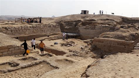 3,000 year old pyramid of Pharaoh's adviser discovered in ...