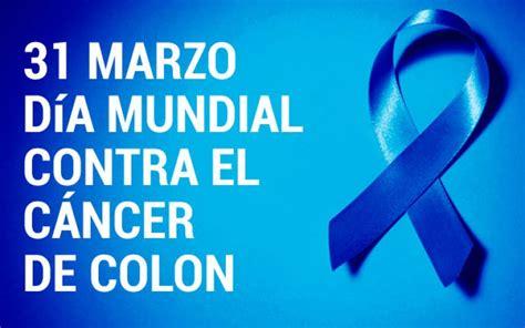 31 de marzo: Día mundial del cáncer de colon   CN Saladillo