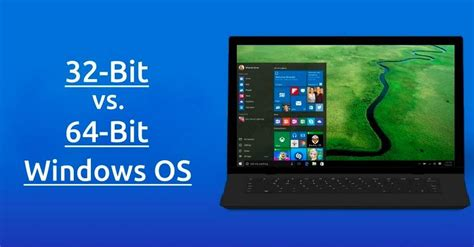 32 Bit Vs 64 Bit Windows OS: What Is The Difference? How ...