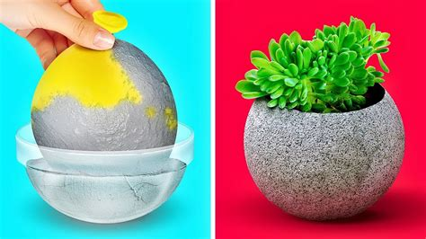 33 FANTASTIC CEMENT AND CLAY DIY IDEAS 15   YouTube