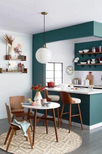 33 Ideas de como decorar una cocina pequeña con poco ...