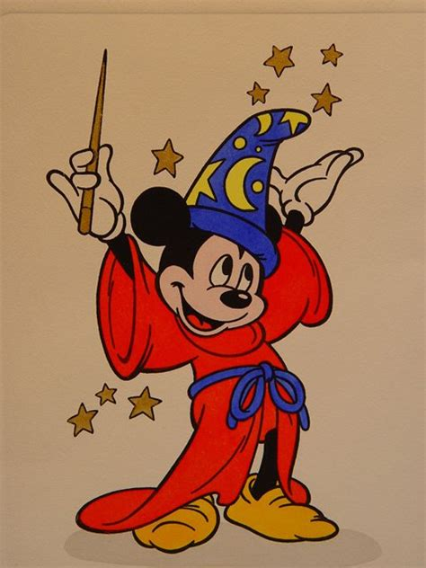 [34+] Mickey Mouse Fantasia Wallpaper on WallpaperSafari