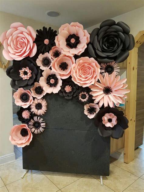 34 sencillas ideas de flores de papel para decoración 【TOP ...