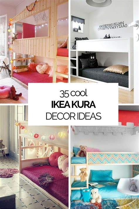 35 Cool IKEA Kura Beds Ideas For Your Kids' Rooms ...