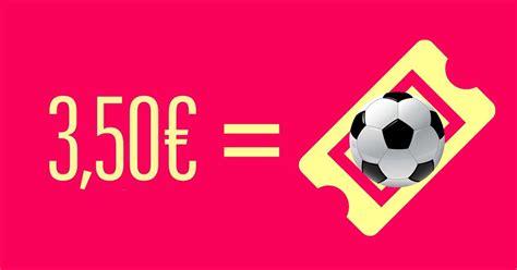 3,50 euros por partido, ¿triunfaría esta nueva fórmula ...
