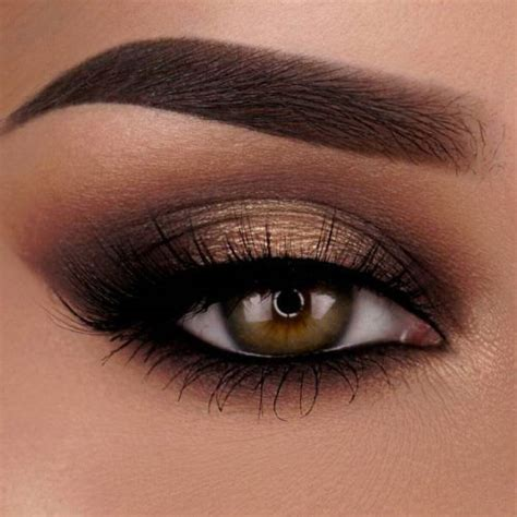 36 Flattering Ideas For Light Brown Eyes Makeup ...