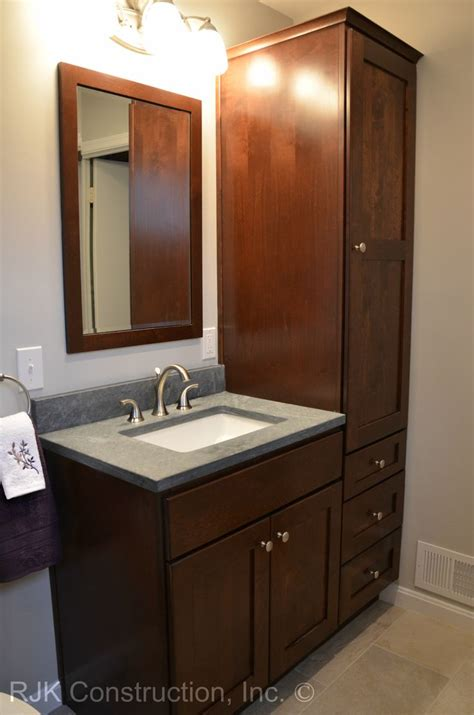 36 inch bathroom vanity with tall side cabinet   Google ...
