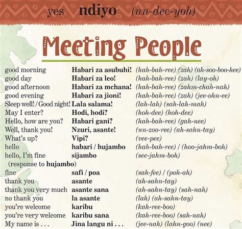 37 best Swahili images on Pinterest | Languages, Idioms ...