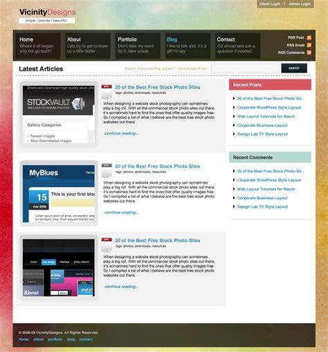 37 Inspirational and Detailed Wordpress Theme Design ...