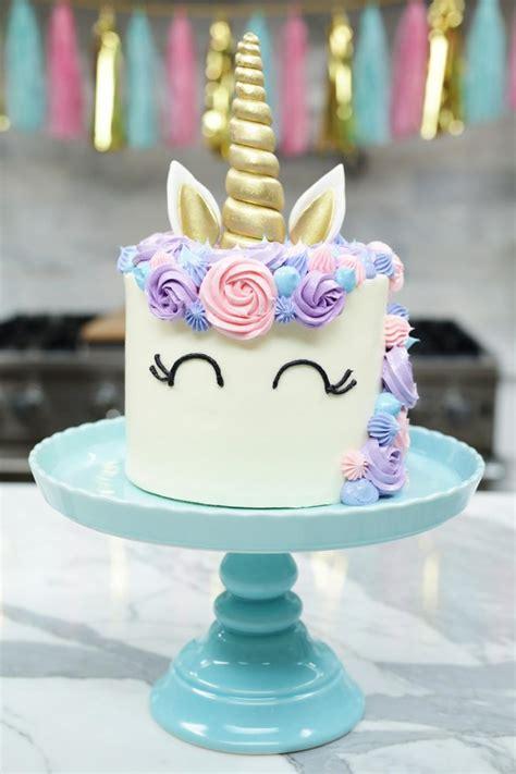 37 Pasteles de Unicornio Mágicos Súper Fáciles de Hacer ...