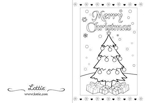 38 Joyful Coloring Christmas Cards | KittyBabyLove.com