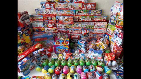 386 Surprise Eggs Kinder Surprise Collection   YouTube
