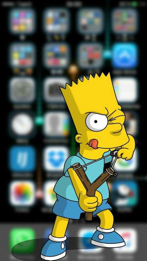3D Bart Simpsons #Phone #Wallpaper #Background | Pantalla ...