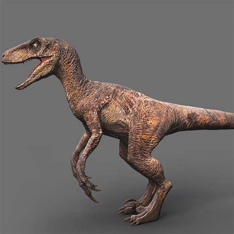 3d model velociraptor jurassic park