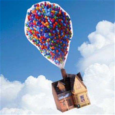 "3D ""UP"" Printable House with Balloons – Tip Junkie"