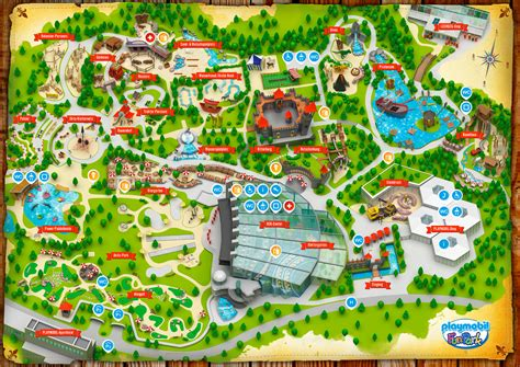 3d visualization of the Playmobil FunPark in Zirndorf near ...