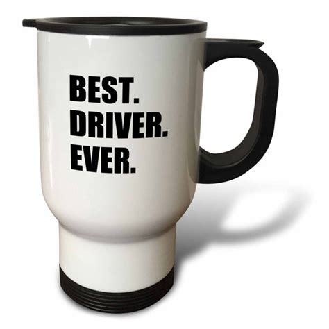 3dRose Best Driver Ever   fun gift for good drivers ...