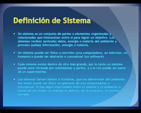 3er Grupo   Definición de Sistema :: Sistemas Informáticos
