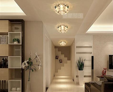 3w bedroom led Crystal ceiling lamps for home modern ...
