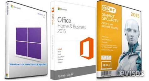3x1 paquete de windows 10 pro final español 64bits y ...