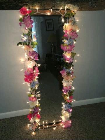 4 diseños de espejos decorados con flores tipo vintage ...
