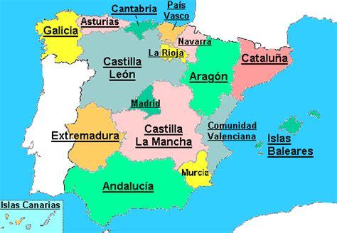 4º E.P. San José Santander: Comunidades Autónomas de España