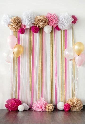 4 ejemplos para una decoracion sencilla para cumpleaños