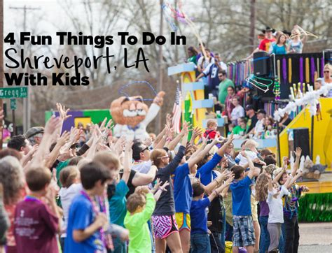 4 Fun Things to do in Shreveport LA with Kids   Hilton Mom ...