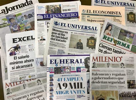 4 gráficos sobre el negocio de los periódicos en México en ...