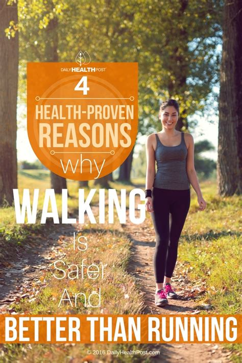 4 Health Proven Reasons Why Walking Is Safer And Better ...