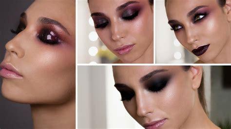 4 LOOKS   Smoky Eyes, Bold Lips & Glossy Lids   Makeupzone ...