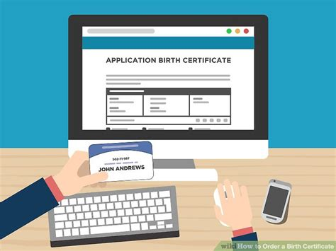 4 Ways to Order a Birth Certificate   wikiHow