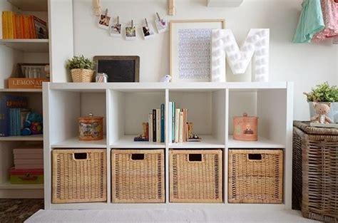 4 x IKEA BRANAS Rattan storage baskets 32x34x32 cm fits ...