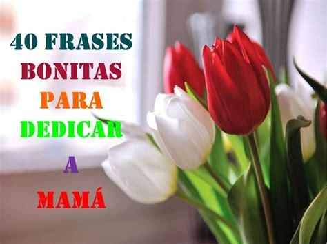 40 FRASES BONITAS PARA DEDICAR A MAMA – FELIZ DIA MAMITA ...